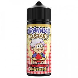 Grannies Custard – Strawberry Custard (100ml)